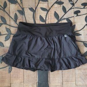 VSX Victoria's Secret Black Tennis Skirt/Skort Sm